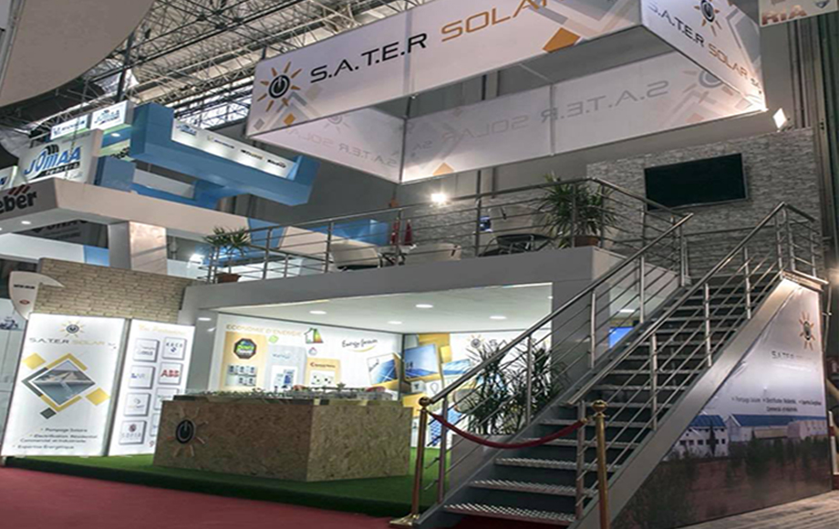 Stand SATER SOLAR (SIAMAP 2017) TUNIS
